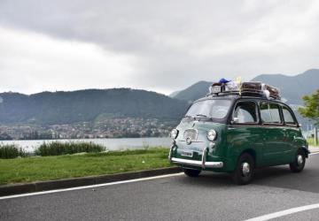 Immagine Fiat 600 Multipla Taxi Verde