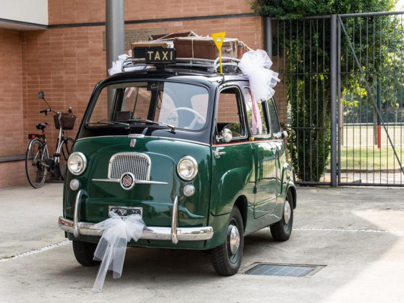 600 Multipla Taxi Verde